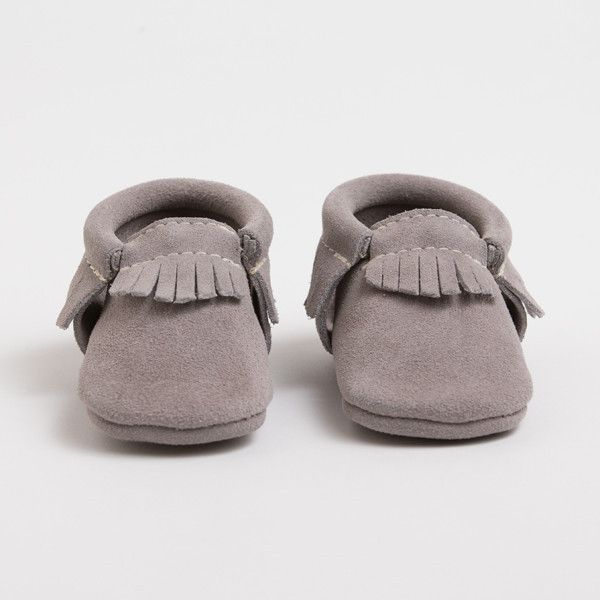 Stone Suede - Limited Edition Moccasins - 100% Genuine Leather for Kids by Freshly Picked #kidsfashion