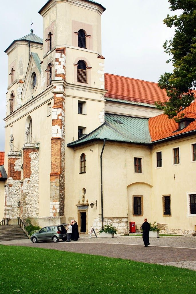 Norske reiseblogger: Besøk på Benedictine klosteret i Tyniec, Krakow