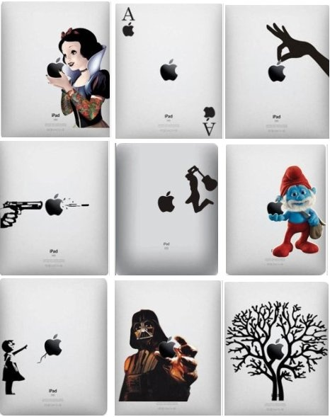 33 Brilliant iPad decals… ➩ http://themetapicture.com/brilliant-stickers-for-your-ipad/
