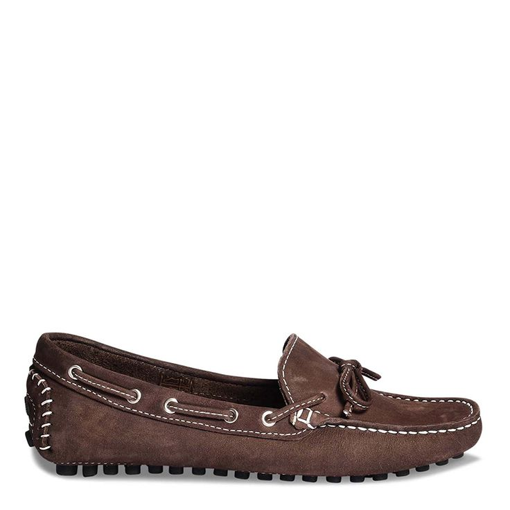 Roberto Durville Paris Women's Brown Genuine Soft Leather Loafers 41 M EU ** More info could be found at the image url.