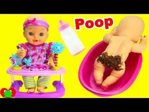 (117) Best Learning Video Baby Night time Routine Milk, Poo, Bath, Sleep - YouTube