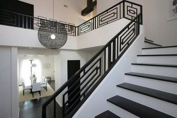 Decorative Staircase Railings Design, Pictures, Remodel, Decor and Ideas