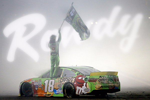 "Kyle ""Rowdy"" Busch wins the 2015 Sprint Cup Championship"