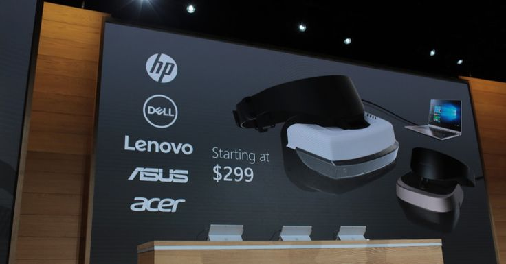 HP, Dell, Lenovo, Asus and Acer will all ship VR headsets for your PC starting at $299  |  TechCrunch