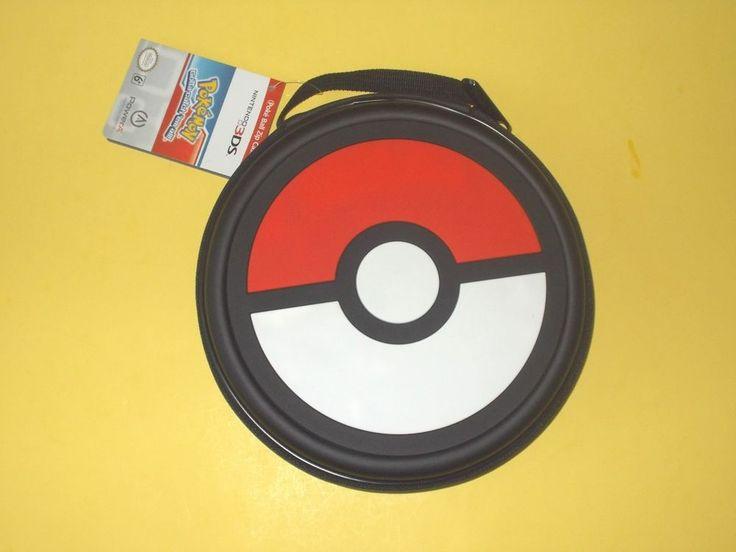 Pokemon Poke Ball / Pokeball Zip Case Nintendo 3DS / 3DS XL / DSi / DS XL #PowerA