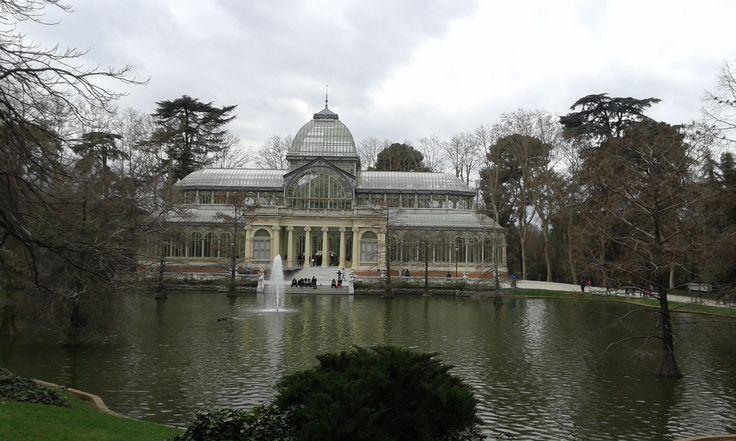 Palazzo di cristallo - Parque del retiro - Madrid