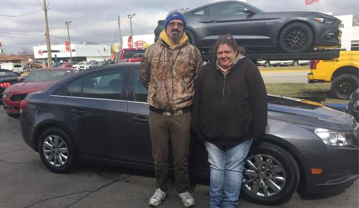 Tammie's new 2011 CHEVROLET CRUZE! Congratulations and best wishes from Kunes Country Ford of Antioch and JON CASTLEMAN.