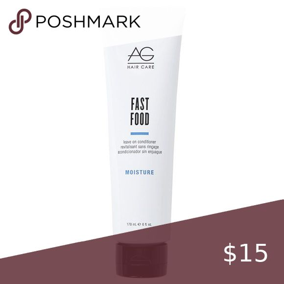 AG Hair Fast Food Leave On Conditioner NWT in 2020 | Ag ...