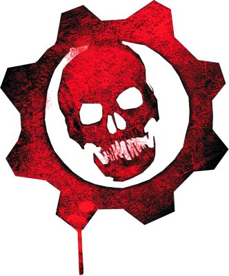 wallpaper Gears of war logo
