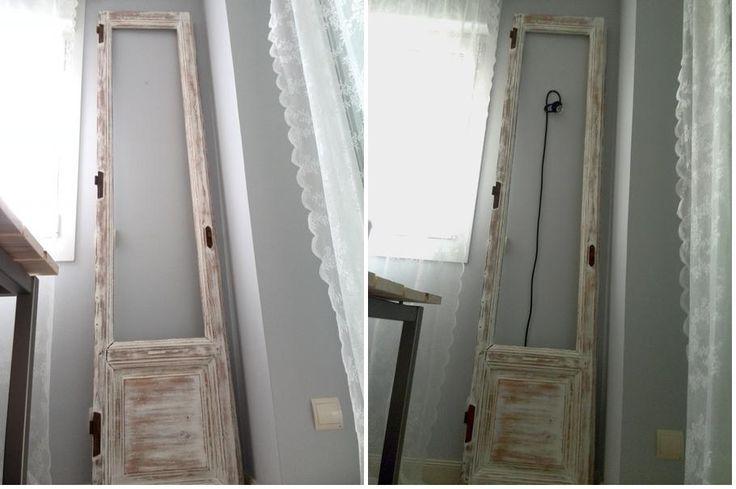 ¡Vamos a aprovechar una vieja puerta!