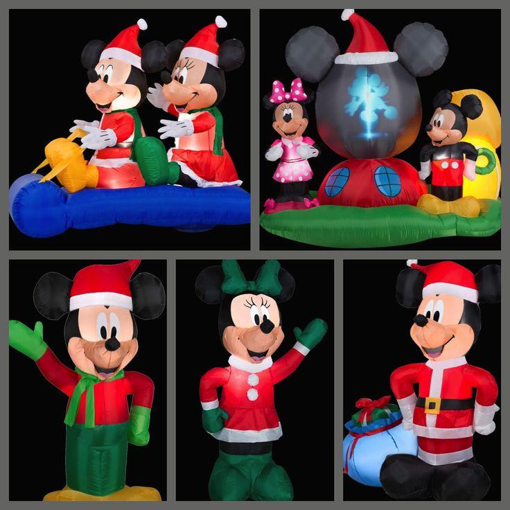 My Disney Life: Fun Find: Holiday Inflatable Fun- Mickey