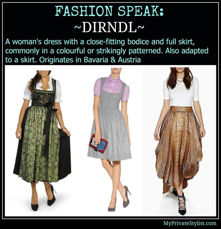 Dresses and Skirts: Dirndl