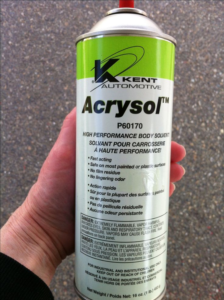 We used this product to remove the weathered decals from our 5th wheel.