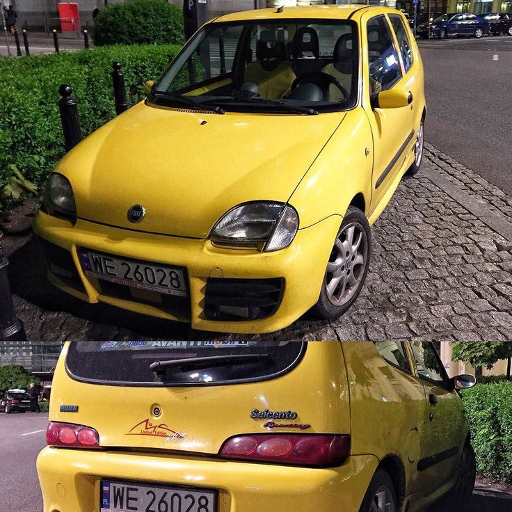 "Fiat Seicento Sporting ""Michael Schumacher"" limited edition (like Abarth kit)  not so fancy but still quite rare  looking mint spotted in Warsaw Poland  THANK you for 6000 followers!!!  Keep calm and stay tuned!  Remember to turn notifications ON to get all posts from @AbarthInsta!  #instagramchange  ______FOLLOW for more Abarth pics________  The #AbarthInsta IG fanpage created to bring you the finest scorpio photos from owners and spotters!  The fan-page for Abarth enthusiasts worldwide…"