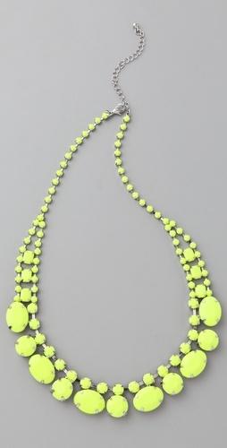"Short Neon ""Stone"" Necklace"