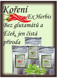 Bylinky Ex Herbis - úvod   ExHerbis - Zdraví a krása z přírody - Bylinky a BIO kosmetika