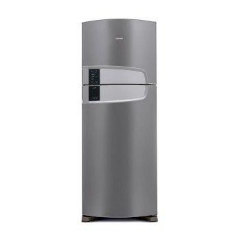 Tecnologia Frost FreeJá pensou nunca mais precisar descongelar a sua geladeira? A Consul pensou. Com a tecnologia Frost Free você não precisa descongelar nunca.Controle Externo TemperaturaSimples e intuitivo, controle a temperatura da sua geladeira com apenas um botão, sem abrir a porta. São 4 níveis de temperatura e a função Turbo, ideal para quando sua geladeira está bem cheia.Acabamento EvoxEvox protege sua geladeira da ferrugem e corrosão com uma camada de zinco e uma película…
