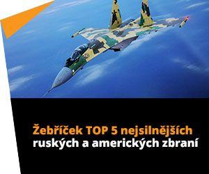 Žebříček TOP 5 nejsilnějších ruských a amerických zbraní