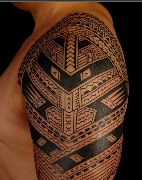 17 best images about 26 best polynesian tattoo designs on for Best polynesian tattoo artist