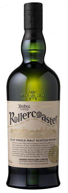Ardbeg Rollercoaster: In 2010 2 flessen meegebracht uit de distilleerderij zelf, voor £50 per fles. Zijn nu al het vierdubbele waard!