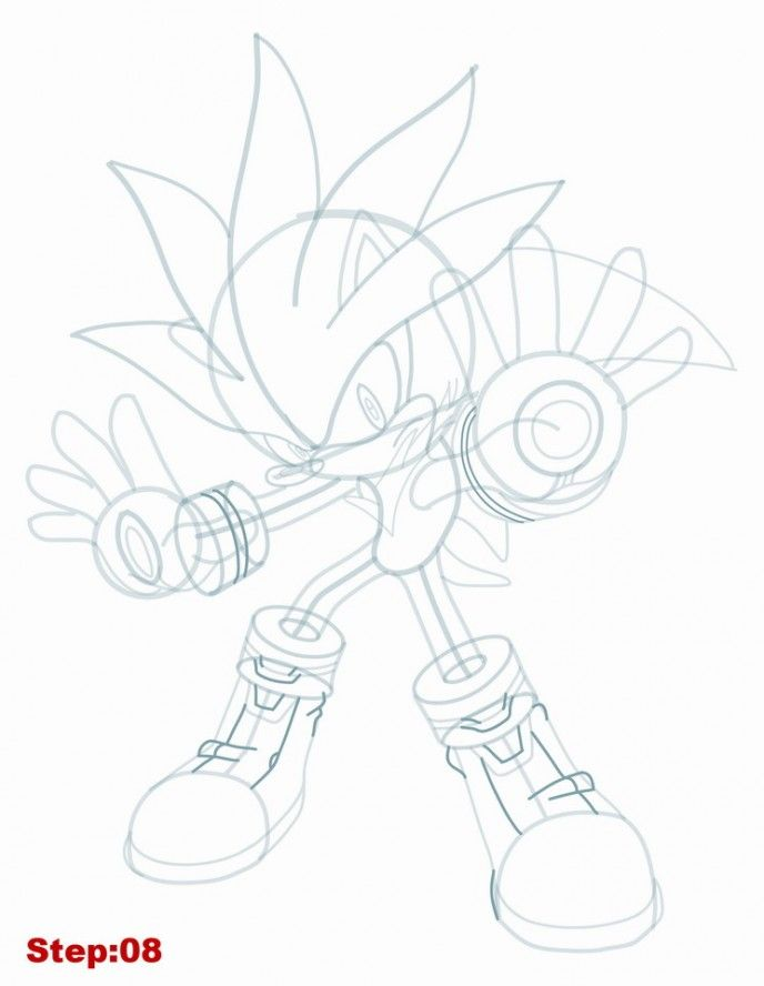 33 Best How To Draw Sonic And Other Characters From Sonic