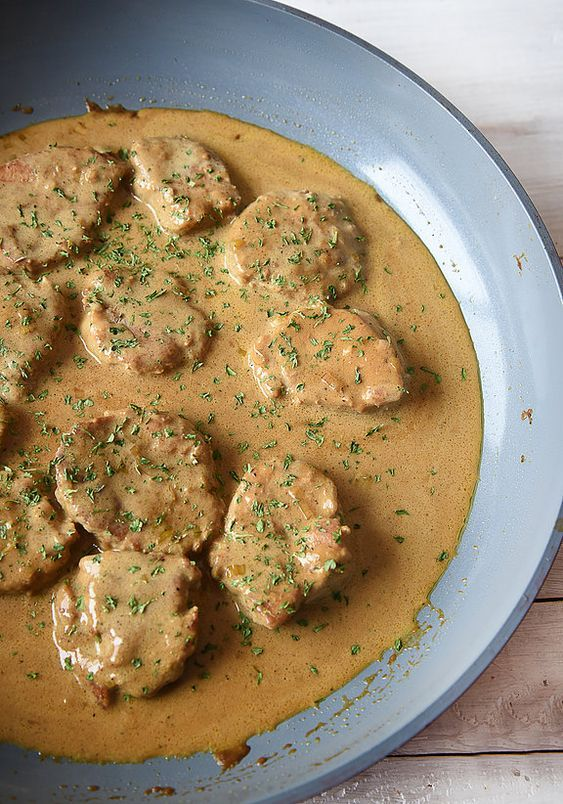 atableavecjosee | Filet de porc sauce au poivre