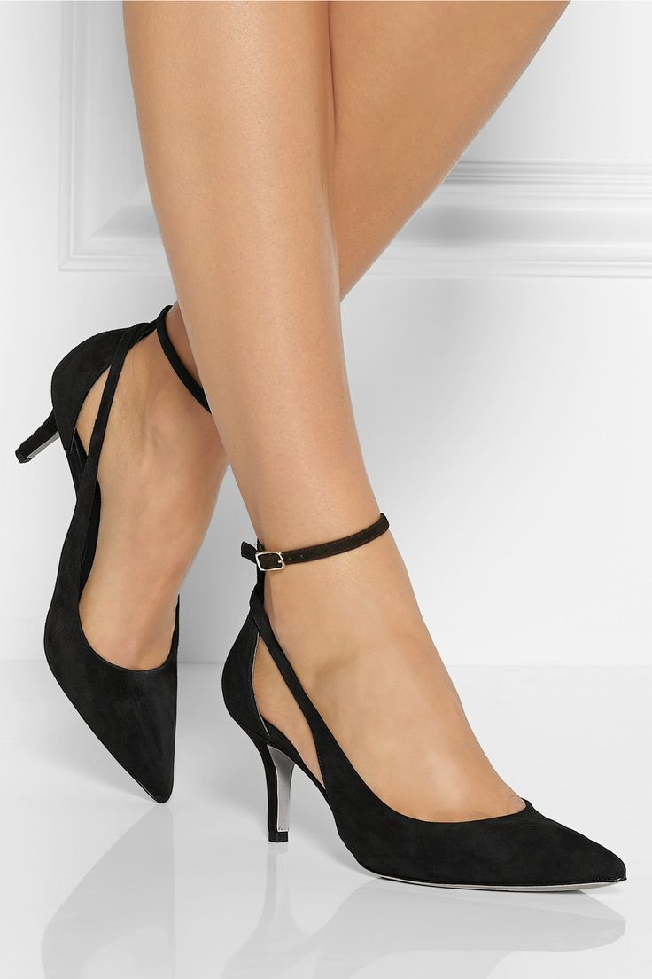 Alexander Wang | Theres cutout suede pumps