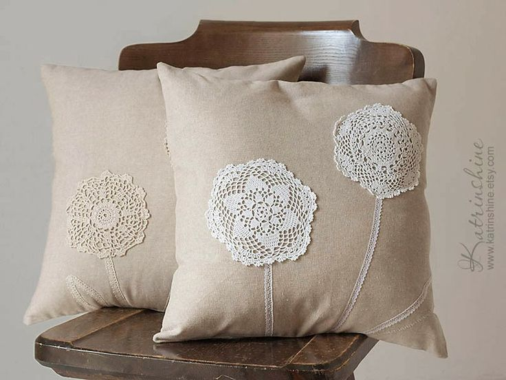 Doilies cushion