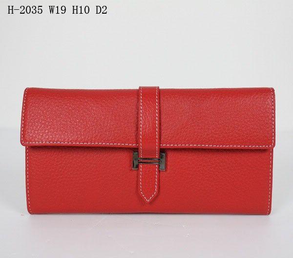 Кошелек Hermes #5629 !! Последняя распродажа модели !! Продаётся с большой скидкой !! !! Отличное качество и низкая цена !! Цвет: КрасныйРазмер: 19 x 10 x 2 см