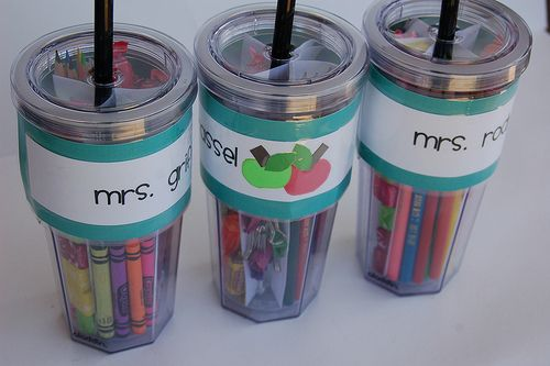 Cute teacher gift idea!