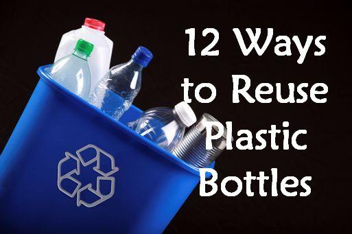 Condo Blues: 12 manieren OM plastic flessen hergebruiken