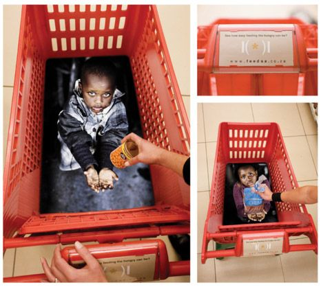 Hambre en África. ----------------  Hunger in África.