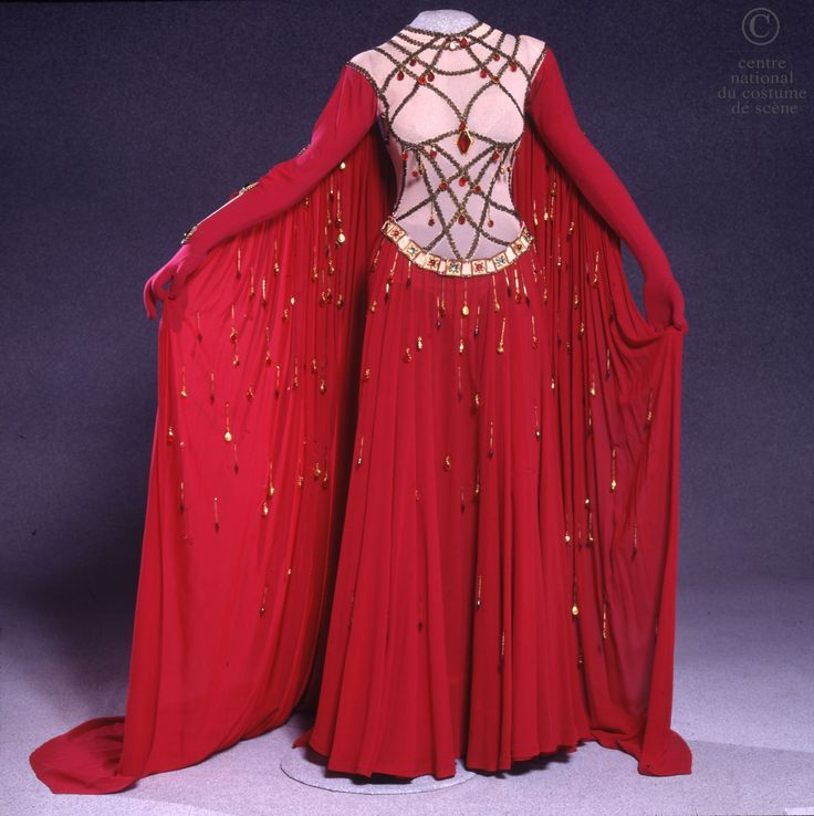 "Fortuna's costume in the 1978 Opéra National de Paris production of ""The Coronation of Poppea."""