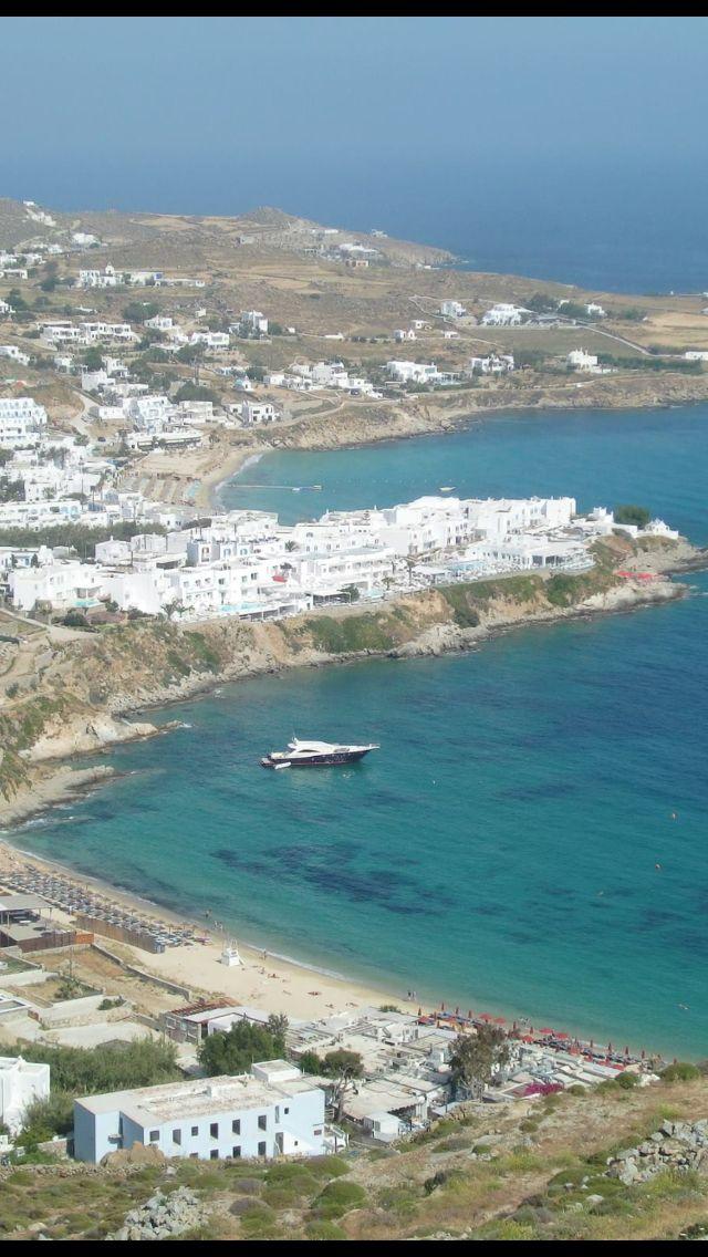 #Μykonos ,#Psarrou #Platy_Gialos beaches !