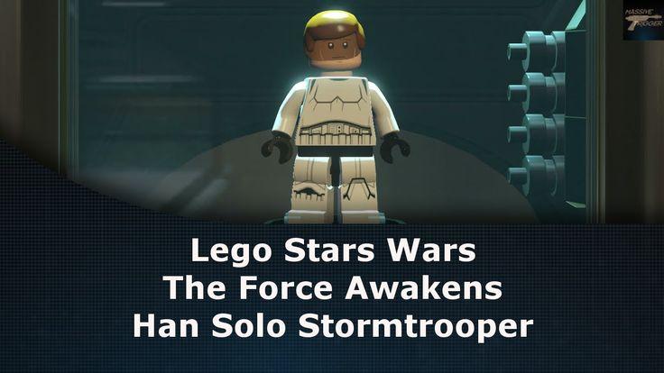 Lego Star Wars The Force Awakens Han Solo Stormtrooper Unlock Location