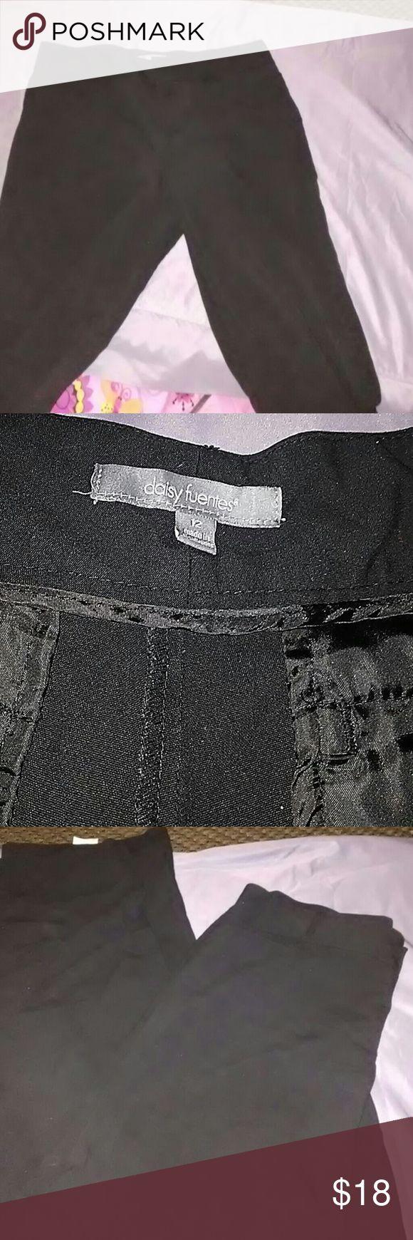 Daisy Fuentes pants Daisy Fuentes Dress  pants Daisy Fuentes Pants