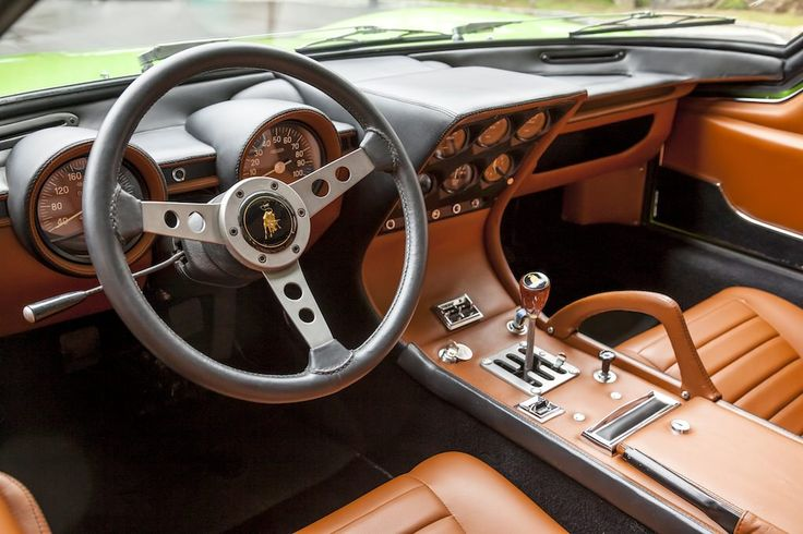 1969 Lamborghini Miura P400S SV Specification
