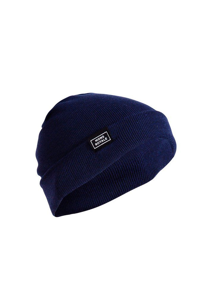 McCloud Beanie - Navy | Mons Royale New Zealand