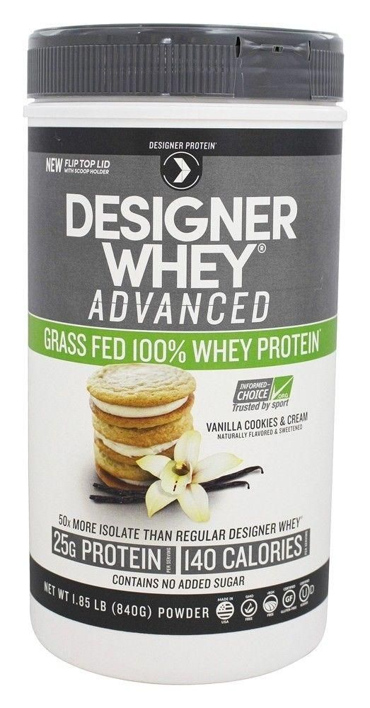 #Beauty #Health #weight loss drinks Designer Protein – Designer Whey Advanced Grass Fed 100% Whey Protein Vanilla 39.55      Item specifics     Condition:        New: A brand-new, unused,...