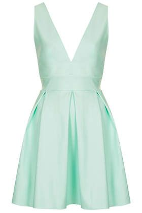 Robe patineuse vert menthe oh my love robe pinterest for Robe vert aqua pour mariage