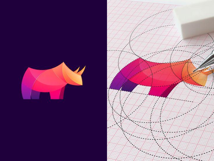 Un logo geometrico deve essere fatto con forme geometriche!