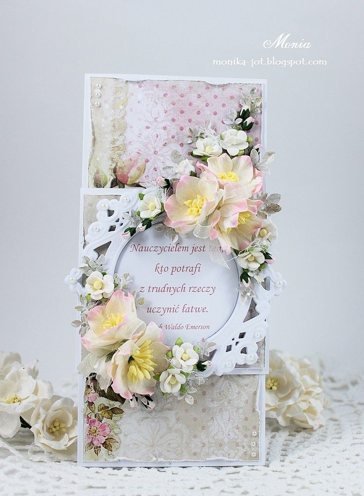 Wild Orchid Crafts: October 2014 I made a rectangular card with a band