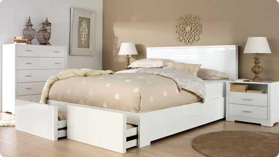 Beautiful And Elegant White Bedroom Furniture Ideas White