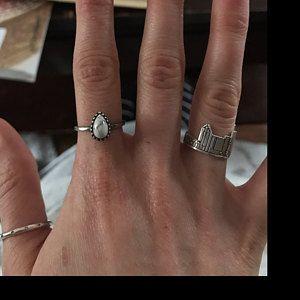 Anillo de plata, anillo vintage, anillo masculino, anillo para hombre, anillo rústico, anillo vintage, anillo medieval, anillo romano, anillo de palabras, palabras en relieve   – braceleDs