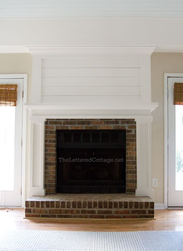 174 best brick fireplace wall images on Pinterest Fireplace