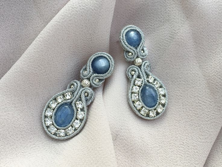 A personal favorite from my Etsy shop https://www.etsy.com/listing/520287571/delicate-vintage-style-earrings-with