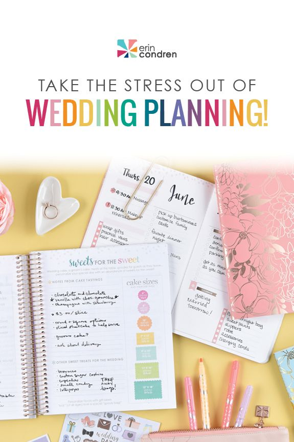 Tackle To Dos Before I Dos Wedding Planner Book Erin Condren Wedding Planner Wedding Planning Book