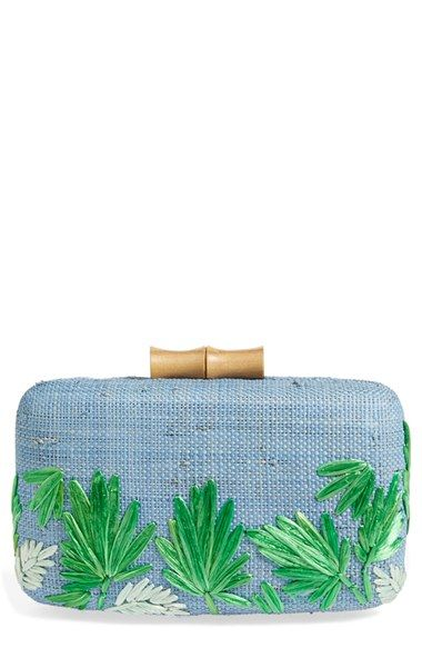 Kayu 'Makaha' Straw Clutch available at #Nordstrom