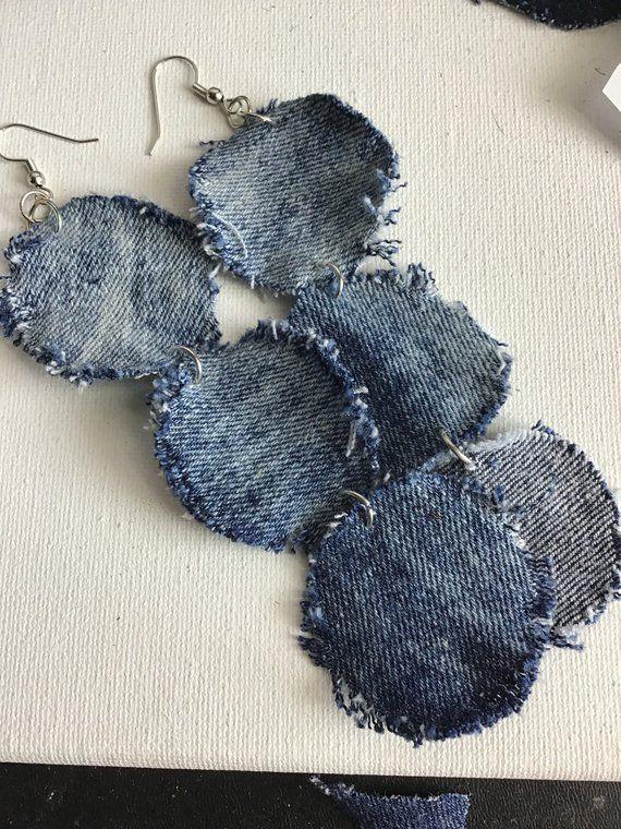 New Ladies Womans Boho Hippy Blue//Grey Rough Finish scarf