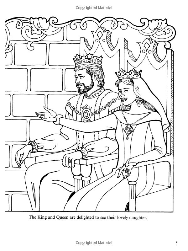 32 best Coloring Princess Leonora images on Pinterest Coloring - best of coloring pages of king and queen